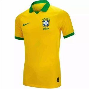 Brand new Nike Team Brazil Soccer jersey